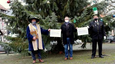 Bild der Meldung: 1.600 Euro für die Tradition der Berg- und Hänselstadt