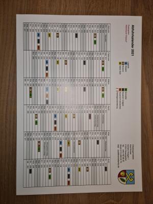 Foto zur Meldung: Müllabfuhr-Kalender 2021
