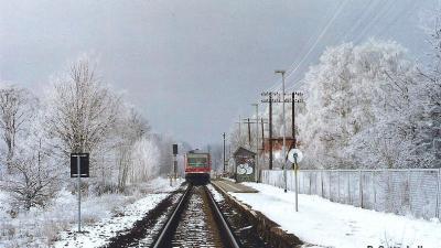 Foto zur Meldung: Schnee in Rehfelde