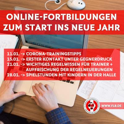 Bild der Meldung: Online-Fortbildungen im Januar jetzt buchen!