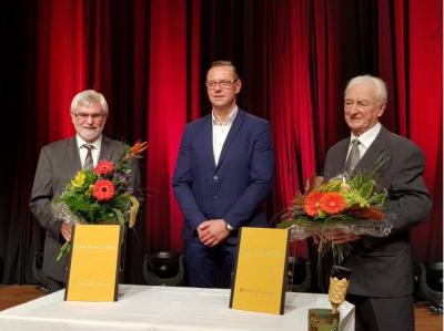 Vorschaubild der Meldung: 2020 Ehrenbürger Walter Pflugbeil