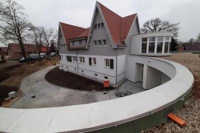 """Foto zur Meldung: Vom ehemaligen Kinderheim zur neuen """"Kita Storchennest"""" in Boblitz"""