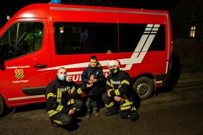 Vorschaubild zur Meldung: JFW - Weihnachtshelfer unterwegs in Putbus