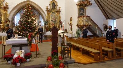 Foto zur Meldung: Dreikönigsweihe und Jahrtag der Feuerwehr Miltach gefeiert