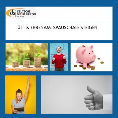 ÜL- & Ehrenamtspauschale steigen