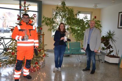 Foto zur Meldung: Neue Mitarbeiter für Bauhof und Rathaus