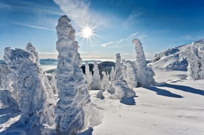 Arbermandl Großer Arber Winter