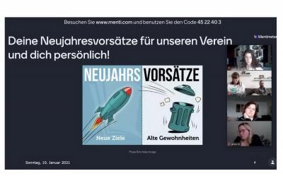 Vorschaubild zur Meldung: Runter vom Sofa - Sportlicher Start gelungen!