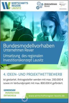 Vorschaubild zur Meldung: Fördermittel für Unternehmen für Maßnahmen zur Strukturentwicklung in der Region Lausitz