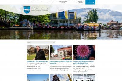 Foto zur Meldung: Neue Internetseite – Stadt präsentiert neues, modernes und nutzerfreundliches Design