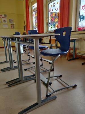 Neue Klassenzimmermöbel