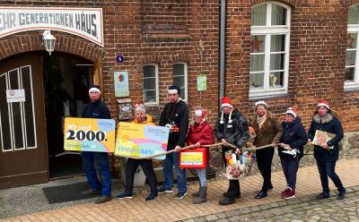 Foto: Angelika Lübcke Über 2000 Ehrenamtskarten sind in MV für ehrenamtlich Engagierte in den  verschiedensten Bereichen verteilt worden.