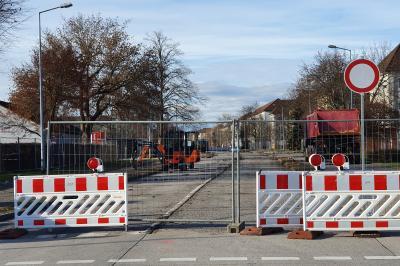 Foto zur Meldung: Fortführung Bauabschnitt 3 im Straßenbauvorhaben Neugestaltung der Robert-Koch-Straße