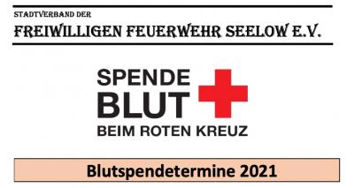 Blutspendetermine 2021