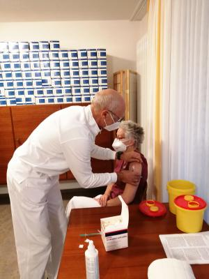 Bild der Meldung: Mitarbeiter und Bewohner geimpft