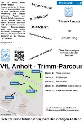 Trimm-Parcour für Alt und Jung