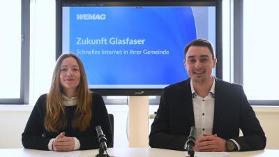 """In einer """"digitalen Einwohnerversammlung"""" erhalten Interessierte alle Informationen zum Breitbandausbau. Foto: WEMAG/SKRmedia"""