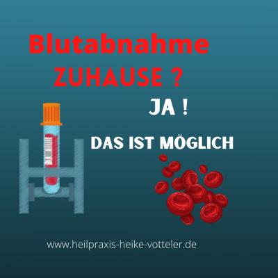 Blutabnahme Zuhause