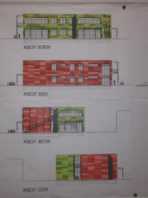 Foto zur Meldung: Die Bauarbeiten für den Neubau am Lohbachweg haben begonnen!