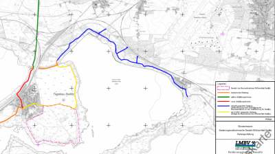 Foto zur Meldung: LMBV: Radweg am Sedlitzer See wird durch Überleitertunnel umgeleitet