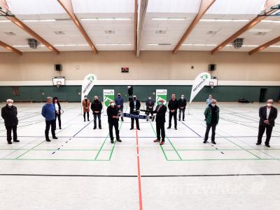 Bild der Meldung: Quandt-Turnhalle bietet nun bessere Bedingungen