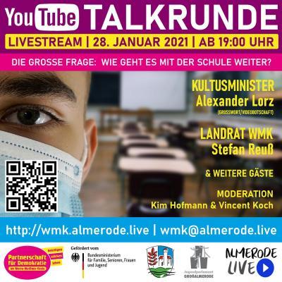 Bild der Meldung: Live Talkrunde Schule
