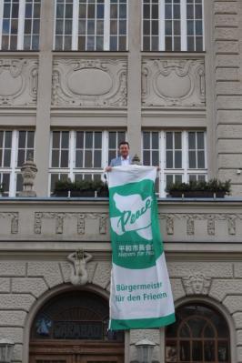 Als Mitglied von Mayors for Peace begrüßt die Stadt Sassnitz das Inkrafttreten des Atomwaffenverbotsvertrages