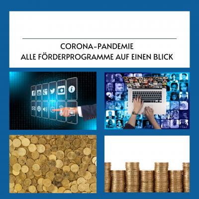 Corona: Förderprogramme im Überblick