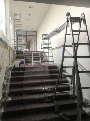 Renovierungen im Schulhaus