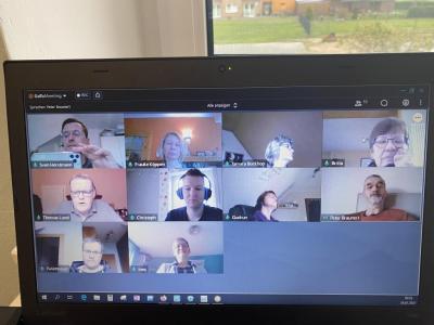 Erweiterte Vorstandssitzung online