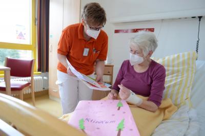 Foto zur Meldung: Aktuelle Corona-Lage am Klinikum Niederlausitz