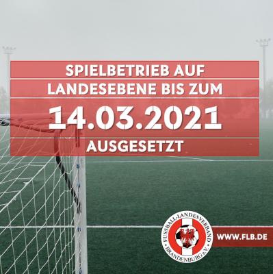 Foto zur Meldung: Fußball: Winterpause in Brandenburg verlängert
