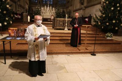 """Foto zur Meldung: Unser Pfarrer Augustin Sperl mit dem Ehrentitel """"Monsignore"""" ausgezeichnet"""