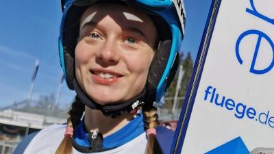 Foto zur Meldung: Cindy löst Ticket für die Juniorenweltmeisterschaften
