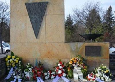 Foto zur Meldung: Stilles Gedenken an die Opfer des Holocaust