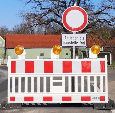 Foto zur Meldung: Bauvorhaben Ortsdurchfahrt B246 Straße der Einheit (Rottstock)