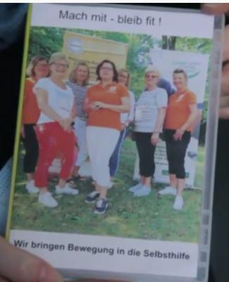 """""""Mach mit - bleib fit"""" Bewegungs- DVD für Selbsthilfegruppen"""