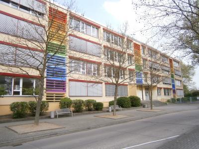 Straßenansicht Oberschule Beelitz