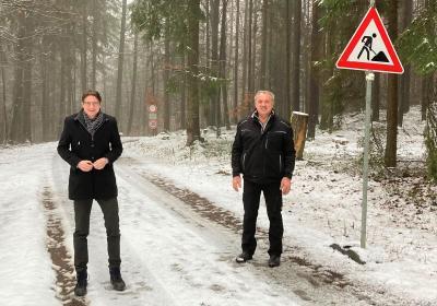 Foto zur Meldung: Kruspis - Gemeindeverbindungsweg erneuert