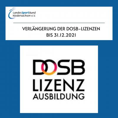 Foto zur Meldung: Verlängerung der DOSB-Lizenz bis 31.12.2021