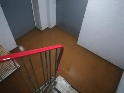 Hochwasser trifft auch Gründauhalle