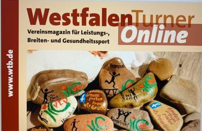 """Neueste Ausgabe des """"Westfalenturners"""" 2/2021 ist online"""