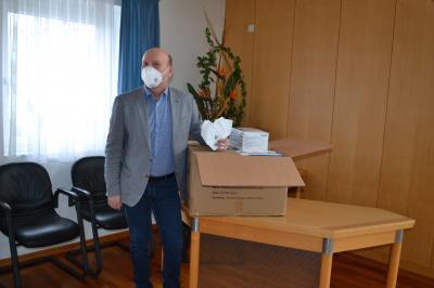 Foto zur Meldung: FFP2-Masken für Ü60-Jährige