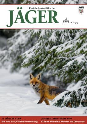Titelbild der Ausgabe 2/2021 des Rheinisch-Westfälischen Jägers