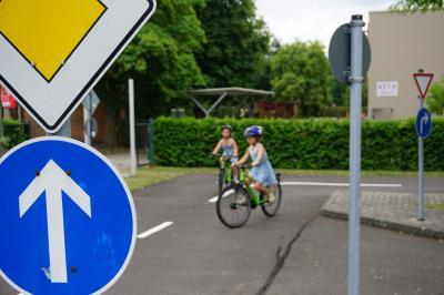 Als häufiges Problem bei den Fahradprüfungen haben sich auch 2020 Vorfahrtsregeln erwiesen. Foto: Jan Hornhauer
