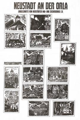 Postkarten-Linolschnittmappe