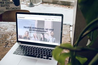 Die elblandwerker steller sich auf einer neuen Homepage vor I Foto: Christian Soult