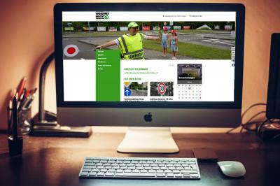 Bild der Meldung: Azubis unterstützen Verkehrswacht bei neuer Homepage