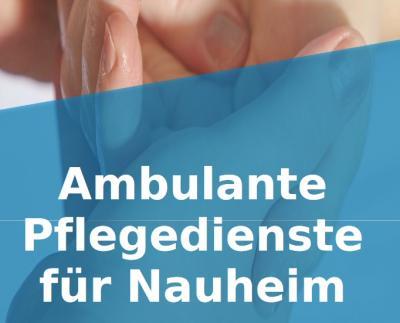 Foto zur Meldung: Neuer Flyer der Gemeinde Nauheim zur ambulanten Pflege