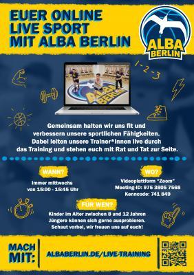 Euer Onlinesport mit ALBA Berlin